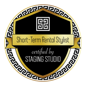 Short term rental stylist badge