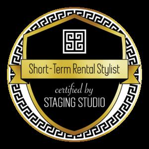 Short term rental stylist badge